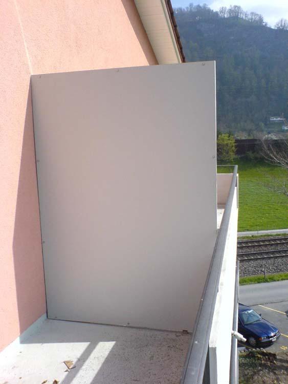 wind sichtschutz 7 willi metall ag. Black Bedroom Furniture Sets. Home Design Ideas